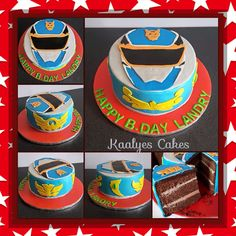 Power Ranger Megaforce cake