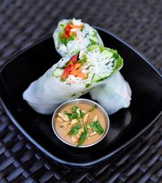 Pei Wei Vietnamese Chicken Salad Rolls - I am addicted to these! Pei Wei is so convenient too!