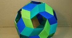 KATAKOTO ORIGAMI: Unit origami ball
