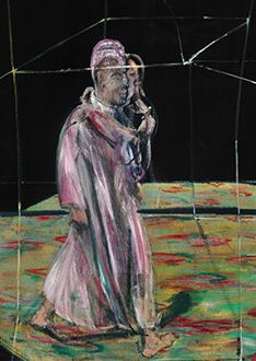 Francis Bacon, Man Carrying a Child, 1956