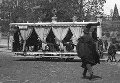 MADRID 31,.Omnibus del barrio de Salamanca en 1890.-donado por Mario Fernández Albarés.-Archivo