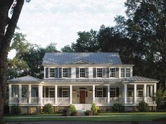 Camilla At Home: Traditional American house