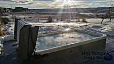 One of our Coast Spas Wellness Swim Spas sunken into composite decking done by us, beautiful view on a crips, cold Calgary winter morning. #hottub #madeincanada #swimspa #coastspas #landscape #spa #infinityedge #yyc #airdrie #alberta #quality #contractor #backyard #renovation #familyfun #ilovecoastspas #luxury #outdoordesign #outdoorliving #backyardgoals #backyardinspo #therapy #wellness #hotwaterpoolsandspas #compositedeck #deck