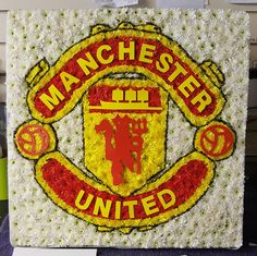 Doris Pinks Florist, Newport, Isle of Wight Funeral Tributes, Isle Of Wight, Dory, Manchester United, Bouquet, The Unit, Pink, Man United, Bouquets