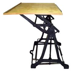 A perfect drafting desk for Kett!  Early Mechanical Drafting Table