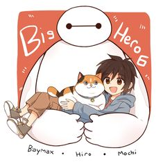 Big Hero6 by 00lin00.deviantart.com on @DeviantArt