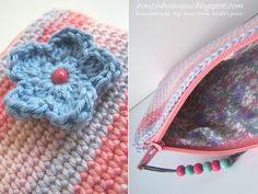 Snap Crochet Pencil Case photos on Pinterest