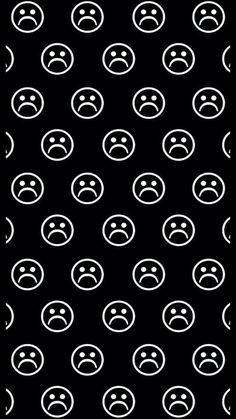 43 Ideas For Wallpaper Preto Tela De Bloqueio Sad Trippy Wallpaper, Sad Wallpaper, Emoji Wallpaper, Iphone Background Wallpaper, Butterfly Wallpaper, Retro Wallpaper, Black Wallpaper, Hipster Wallpaper, Unique Wallpaper