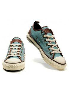 c68de43d3cc2 Converses Blue and brown Light Blue Converse