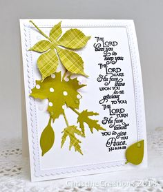 ChristineCreations: Priestly Blessing #ourdailybreaddesigns #stpatrick #Bible