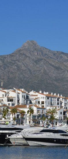 Puerto Banus, Marbella, Spain Marbella Puerto Banus, Andalucia Spain, Vacation Spots, Summer Vacations, Virtual Travel, Southern Europe, Spain And Portugal, Spain Travel, Malaga