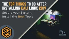 The Top Things to do after Installing Kali Linux. Learn how to secure your System and install the Best Hacking Tools. This list is constantly updated. Kali Linux Hacks, Best Hacking Tools, Best Bookmarks, How To Defend Yourself, Iphone Hacks, Article Writing, Science And Technology, Things To Do, Teaching