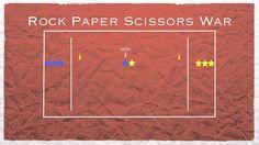 Rock Paper Scissors War van PhysEdGames