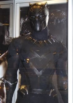 Chadwick Boseman's Black Panther costume from Captain America: Civil War on display… Black Panther Storm, Black Panther Marvel, Black Characters, Marvel Characters, Hulk, Avengers Cartoon, Marvel Avengers, Thor, Super Hero Life