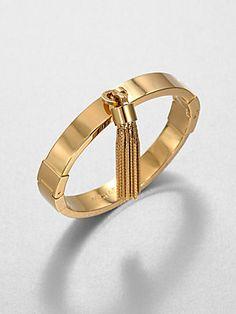 Michael Kors Tassel Bangle Bracelet