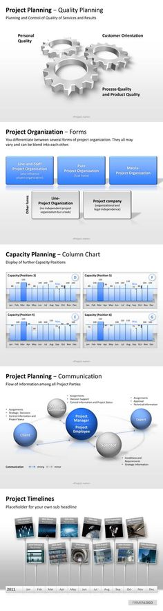 You need project timelines or quality planning templates? No problem. Take a look at our shop www.presentationload.com