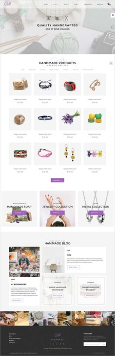 Gelli is a stylish modern and elegant design #WooCommerce #WordPress theme for #handmade #crafts shop eCommerce website with 7+ multipurpose homepage layouts download now➩  https://themeforest.net/item/gelli-woocommerce-theme-for-jewelry-perfume-accessories-handmade-store/18023071?ref=Datasata