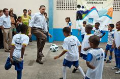 How U.S. Presidents have Supported Soccer - All of us love #Soccer, but did you know that American Presidents have a fun #soccerhistory? Learn all about it in today's Avila Creative Soccer Blog. #PresidentsDay
