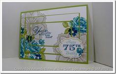 stampin up memorable moments | Amanda Bates, The Craft Spa, SU UK demonstrator , Stippled Blossoms ...
