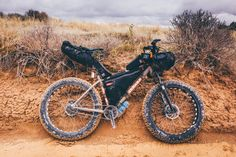 while out riding — The Desert Ramble. Pt For the most part, I. Camping And Hiking, Hiking Gear, Electric Cycle, Water Survival, Bike Packing, Push Bikes, Cargo Bike, Fat Bike, Outdoor Recreation