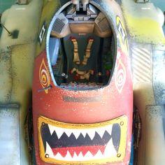 MaK Falke cockpit detail