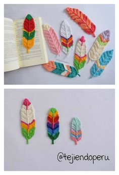 Pretty Feathers Free Crochet Pattern ( 3 Sizes )