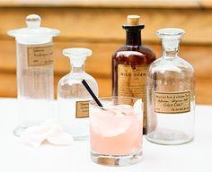 Pink cocktail med kardemomme