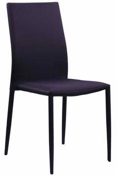 Scaune de bucatarie sau living, moderne, cu un design simplu si placut, realizate pe un cadrul metalic si tapitate integral cu stofa bicolora (mov-negru, maro-alb si alb-negru). http://www.scauneonline.ro/scaune-de-bucatarie-buc-227 pentru detalii si comenzi!