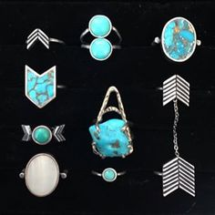 Rings by Torchlight Jewelry / Silver & Turquoise Jewelry