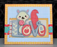 <3!!  The colors are great, the patterns are pretty & the whole card is adorable!