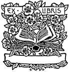 Ex Libris Rubber Craft Stamp - Rubber Stamps Direct http://www.stampsdirect.co.uk/ex-libris-rubber-stamp-589-p.asp