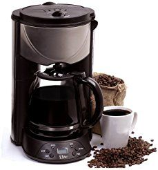 Christmas deals week Maxi Matic EHC-646T Elite Platinum 12 C. Programmable Coffee Maker