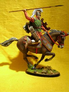 Персидский легкий кавалерист с пикой  ММС