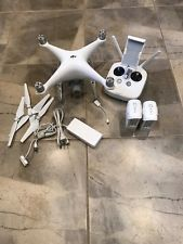 DJI Phantom 4 Pro Drone (w Controller Batteries etc.) - Very Good condition Dji Phantom 4, Drone Quadcopter