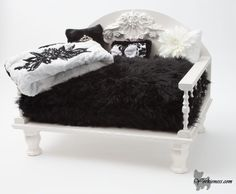 The Yorkie throne.