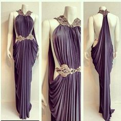 "mildrevolution: "" Greek/Roman Inspired Clothing: 2nd dress by Hana Touma, 3rd dress on ebay, 4th dress found here, 5th dress by Madame Gres ,6th dress by Kaufman Franco , 7th dress by J.Mendel, 8th..."