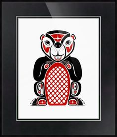 """Beaver""+by+Lon+French,+Victoria+//+Known+as+the+carpenter+of+the+animal+kingdom,+and+is+considered+the+industrious+one.+In+Haida+legend+it+is+the+Beaver+who+is+responsible+for+providing+the+Salmon+that+Raven+had+stolen+to+give+back+to+the+people.+The+Beaver+represents+security,+contentment,+industry,+balance,...+//+Imagekind.com+--+Buy+stunning+fine+art+prints,+framed+prints+and+canvas+prints+directly+from+independent+working+artists+and+photographers."