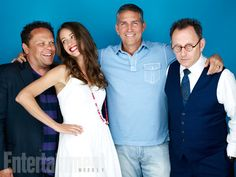 Kevin Chapman, Amy Acker, Jim Caviezel, Michael Emerson, 'Person of Interest' #EWComicCon   Image Credit: Michael Muller for EW