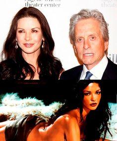 Love is Blind Celebrities (9 of 37): Catherine Zeta Jones and Michael Douglas