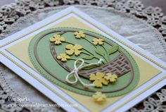 Memory Box Spring and Easter cards…   expressions with heart