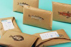 fish monger branding