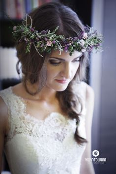 #kwiatownia #wreath #kids #beauty #facetagram #weeding #slub #bride #bridesmaid #decor #decorations #white #head #jewellery #flowers #love #instagram #flowersoftheday #kwiatownia #floral #florystyka #kids fot.Gapsky&KuckoPhotography, modelka:M.Dzwonek