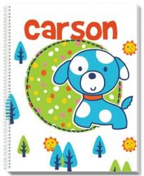 Patch The Puppy Personalized Notebook