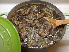 髮菜干貝香菇赤肉羹