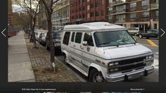A van is available to sleep in in New York city via AirBnB.