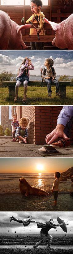 http://www.hypeness.com.br/2013/04/pai-fotografo-captura-a-essencia-da-infancia-em-serie-de-fotos-divertidas-com-seu-filho/