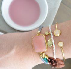 Creëer een trendy zomerlook met deze roze pasteltinten! www.u-beads.nl