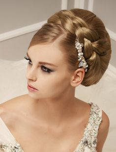 Hairstyle for wedding bride 3