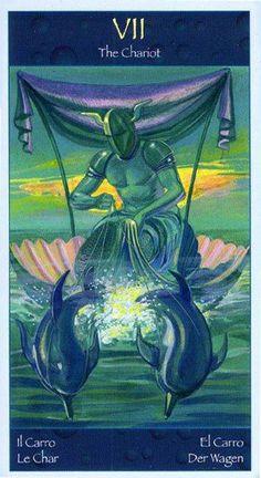 The Chariot - Tarot of Mermaids