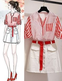 Clueless Outfits, Kpop Fashion Outfits, Trendy Outfits, Fashion Drawing Dresses, Fashion Illustration Dresses, Fashion Dresses, Kawaii Fashion, Cute Fashion, Dress Sketches